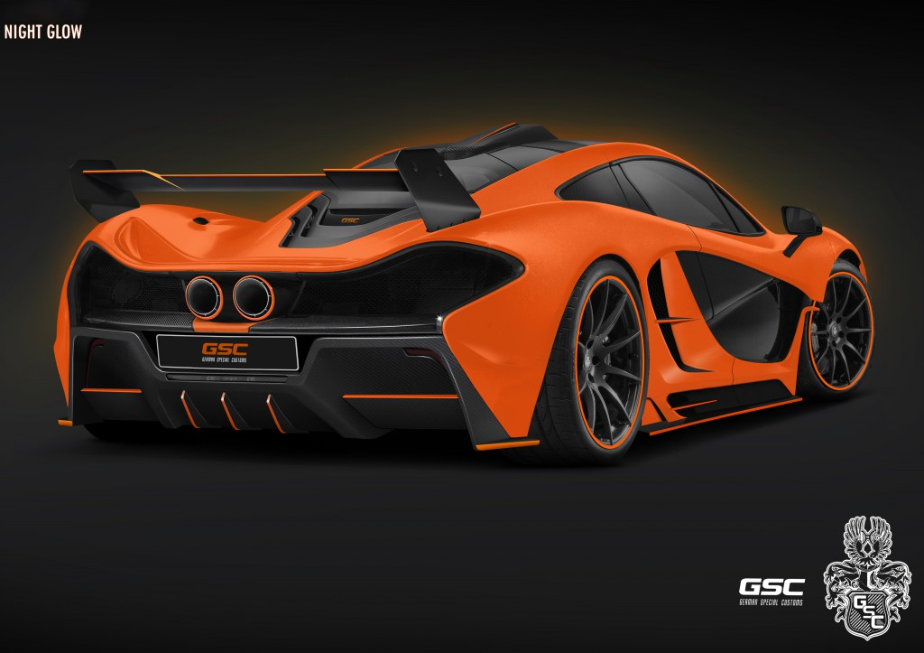 Heck-1024x723 in McLaren P1 Night Glow Concept-Car
